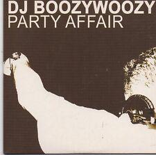 DJ Boozywoozy-Party Affair cd single