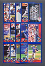 2003 Topps Montreal Expos TEAM SET
