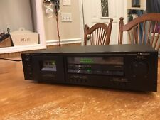 Nakamichi Cr-1A Audiophile 2-Head Stereo Cassette Deck Works