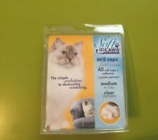 New listing Soft Claws Nail Caps for Cats Kittens Paws, Small, Medium & Large, Choose Color