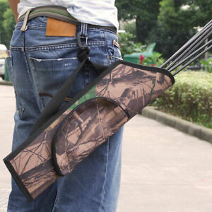 Back//Slant Back//Waist Quiver Quiver YFGRD Multifunctional Recurve Bow Quivers Nylon Composite Quiver