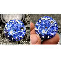 31mm Sterile Luminous Kanagawa Surfing Watch Dial for NH35A Series Movement Part