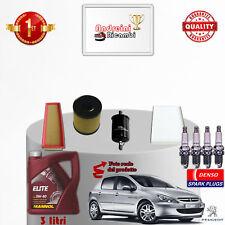 Filtres Kit D'Entretien Huile Bougies Peugeot 307 1.4 16V 65KW 88CV à Partir De