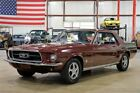 1967 Ford Mustang  1967 Ford Mustang  91932 Miles Burgundy Coupe 200ci I6 Automatic