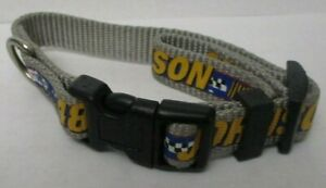 Jimmy Johnson # 48 SMALL ADJUSTABLE 10 -14 inches DOG COLLAR ! FREE SHIPPING !