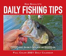 Ken Schultz's Daily Fishing Tips 2021 Box Calendar (Free Shipping)