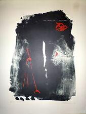 Giuseppe Santomaso Lithographie originale signée 1964 Art Abstrait Abstraction
