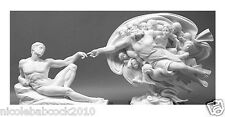 ADAM Bonded Marble Statue - God Sculpture the creation of man adam RELIGIOUS