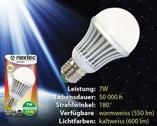 NEU!! Nextec LED Lampe E27 7W 550lm 220V/230V Warmweiß SMD