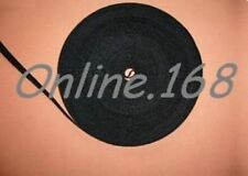 Strong Self Adhesive Tape Sticky Hook and Loop Fasteners 16mm x 2m BLACK