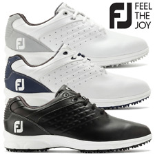 FOOTJOY ARC SL MENS LEATHER WATERPROOF GOLF SHOES ALL COLOURS & SIZES @ 50% OFF