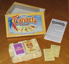 Deluxe Canasta Caliente - Rummy Card Game - Rotating Tray - Winning Moves 2000