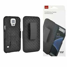 Samsung Galaxy S5 Holster & Shell Combo - Black - Retail Packaging
