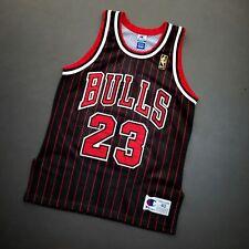 100% Authentic Michael Jordan Vintage Champion 96 97 Bulls Jersey Size 40 M Mens