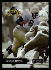 1993 Playoff #294 Jerome Bettis Steelers Rookie (ref 26523)