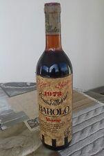 BOTTIGLIA VINO DA COLLEZIONE BAROLO 1973 CANTINE VILLADORIA