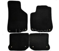 FIT FOR 1999-2005 Volkswagen Gli Golf Jetta MK4 BLACK FLOOR MATS CARPET 4PC