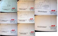 JLG Scissors / Boom Lift HYDRAULIC & ELECTRICAL Schematics              Lot #822