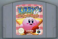 ☆☆☆ KIRBY 64 N64 THE CRYSTAL SHARDS RARE NINTENDO GAME CARD VGC PAL  ☆☆☆