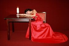 """perfect 36x24 oil painting handpainted on canvas""""A woman in a red dress """"@2128"""
