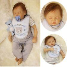 55CM Reborn Baby Doll Lifelike Doll Vinyl Kids Boy Playmate Bambole Reborn Gifts