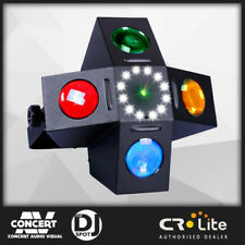 CR Fusion LED Effect DJ PARTY Light, Red/Green Laser and Strobe - BRAND NEW