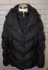 Per Una Marks & Spencer Size Medium black water repellent padded puffa coat