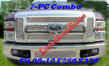 08 09 2008 2009 Ford F250 F350 Billet Grille Combo 7PC