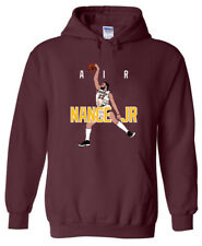 SALE HOODED SWEATSHIRT Larry Nance Jr Cleveland Cavaliers AIR YOUTH MEDIUM