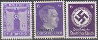 Stamp Selection Germany WWII Fascism Hitler War War Era Ukraine USSR 6 MNG