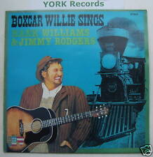 Boxcar Willie Sings Hank Williams & JIMMY ROGERS EX LP