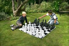 30cm (12 Inch) Lightweight Plastic Chess Set
