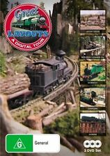 Great Train Layouts DVD (A Digital Tour) 3 Disc DVD