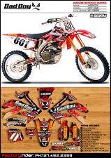 Badboy Motocross Graphics Honda  CRF 450 2005-2008 Dirt Bike Decal Sticker Kit