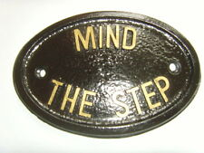 MIND THE STEP  HOUSE SIGN DOOR PLAQUE DISABLED