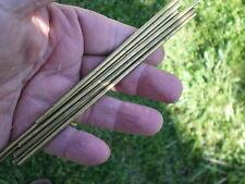 """Knife Making Brass Rod 5/32"""" rod Brass Knife Pins"""
