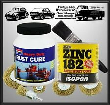 Vw Camper T1 T2 T3 T4 T5 Industrial Strength 9pce Rust Remover Treatment Kit