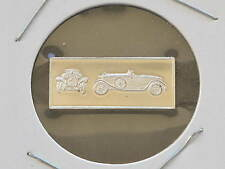 1928 Hispano-Suiza 2.5g Proof Sterling Silver Bar Ingot Franklin Mint D0846