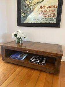 Jimmy Possum made in Australia Mekka coffee table tv unit 120x60x40 as new