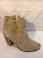 New Look Brown Ankle Suede Boots Size 7