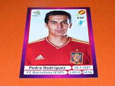 303 PEDRO RODRIGUEZ BARCELONA ESPAGNE ESPAÑA  FOOTBALL PANINI UEFA EURO 2012