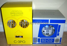 Hot! Medicom Toys Star Wars 2009 VCD Vinyl Collectible Dolls R2-D2 & C-3PO CAN