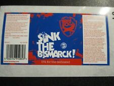 BREWDOG BREW DOG Sink The Bismarck 54 STICKER DECAL craft beer brewery