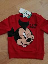 beige 74-98 Gr Disney Mickey Langarmshirt