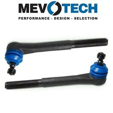 For Chevy GMC Isuzu RWD Pair Set of 2 Front Inner Tie Rod Ends Mevotech MES3380T