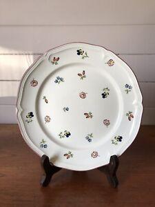 Vintage Villeroy And Boch Porcelain Petite Fleur Dinner Plate Made In Germany