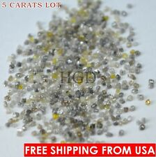 100% NATURAL Loose Rough Diamonds RARE Fancy Mixed uncut raw real 1.25mm 5crts