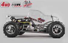 FG Modellsport # 24050R Monster Truck WB535 4WD 26 ccm unlackiert RTR