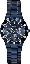 W0027L3 Guess Blue Tone Stainless Steel High Shine Multifunction Watch