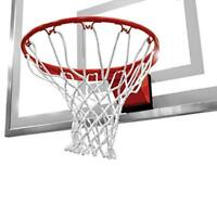 Heavy Duty White Net For Basketball Ring From Spalding
